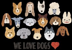 WE LOVE DOG